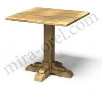 Стол под старину №2 (квадрат)